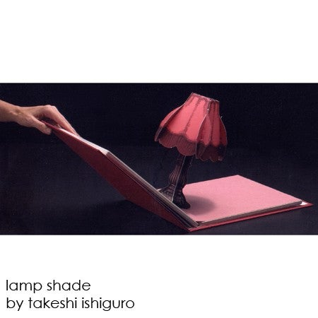 Pop-up Book With a Miniature Working Streetlamp Inside
