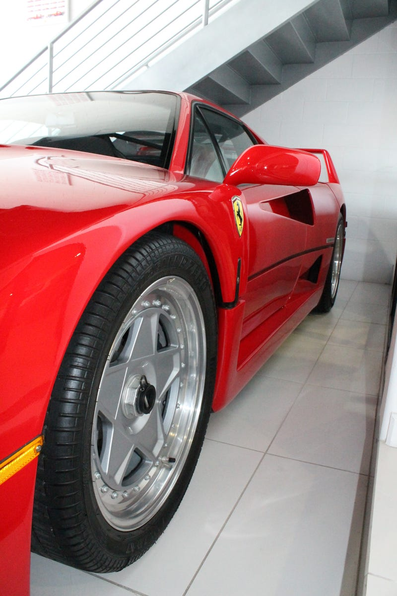 This Is What An F40 Would Look Like If You'd Bought One New