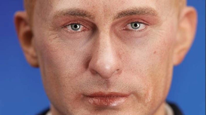 I Wonder How Little Putin Looks with His Shirt Off