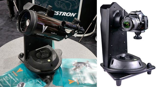 Celestron's Virtuoso Telescope Mount Captures the Stars Above or Gigapixel Images Here On Earth