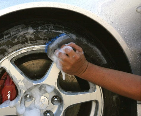 Wheel Cleaning Tips in Detail
