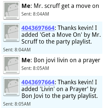 Djtxt Lets Your Party Guests Fix Your Boring Playlist via SMS