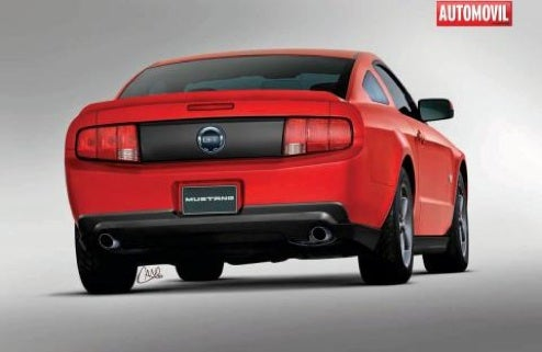 2010 Ford Mustang Unofficially Revealed? Nope.