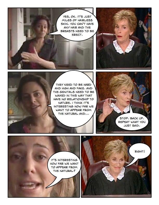 Comic Confrontations: Judge Judy Vs. Feminists, Part 2