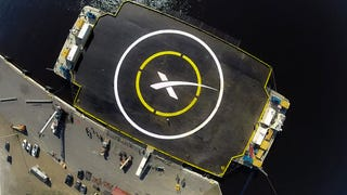 SpaceX Will Try Landing On Barge After Friday's Cargo Flight