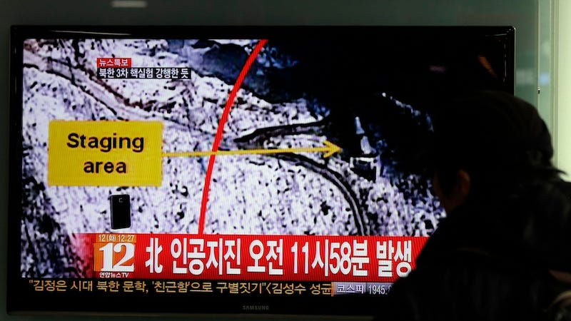 North Korea Reportedly Just Tested a Nuclear Bomb (UPDATE: North and South Korea Confirm)