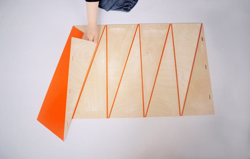 Magnetic Origami Tables Shouldn't Make Sense But They're Perfect