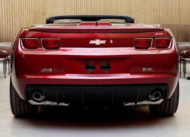 Chevy Camaro Convertible: The Top Drops