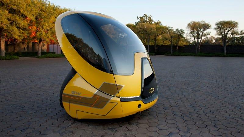 GM EN-V Concept: An electric pod car for pod people