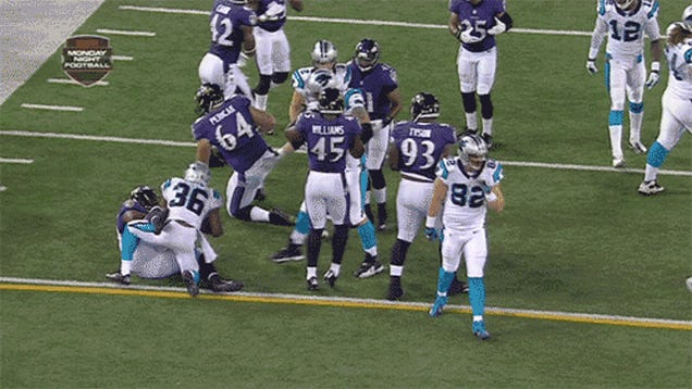 Panthers Player Ejected For Kick To The Groin
