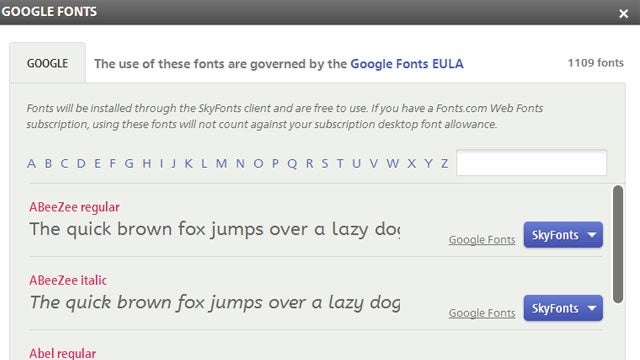 Install Google Fonts on Windows or Mac for Faster Web Browsing