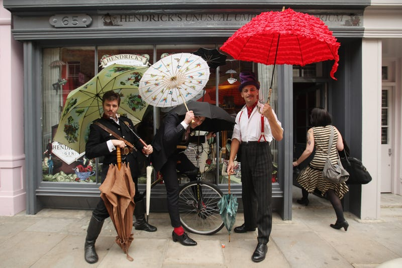 Mustache Umbrella? Pipe Umbrella? The Most Bizarre Umbrellas Ever Invented