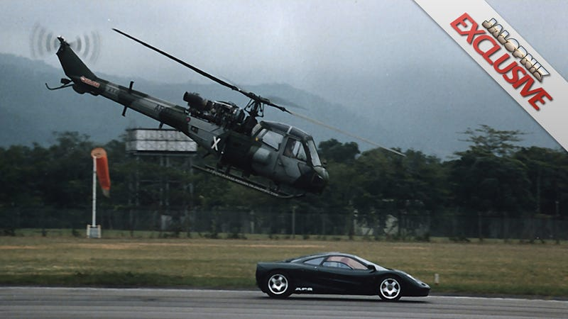 The untold story of a McLaren F1 racing the British Army in Hong Kong