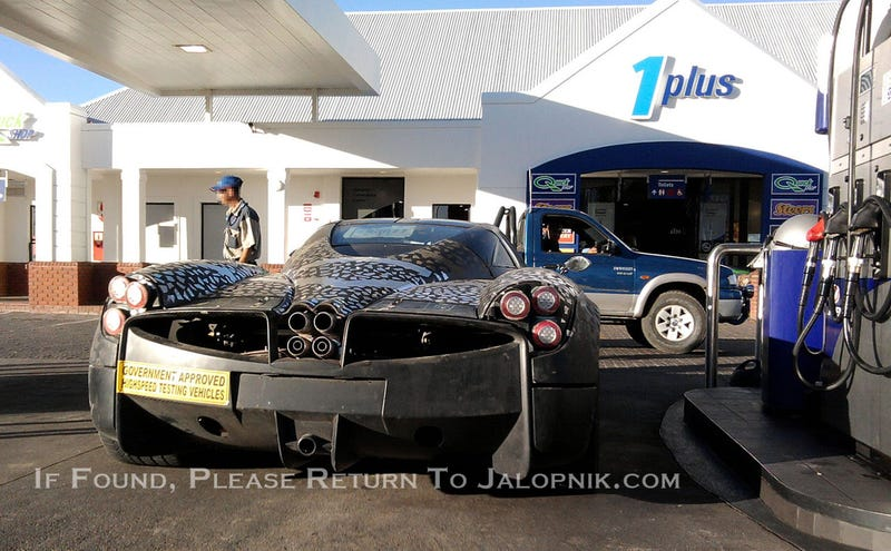 Pagani C9: A Twin-Turbo V12 Needs A Lot Of Gas