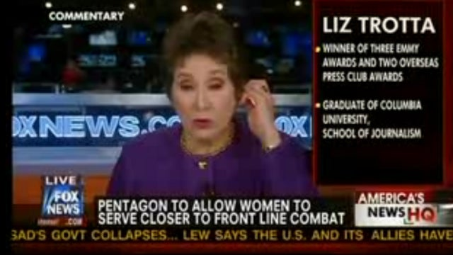 Women in the Military Should Just Expect to Be Raped, Says Fox News Asshole