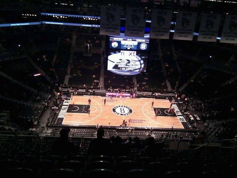 For Just $255, This Could Be Your View Of The Knicks-Nets Season Opener At The Barclays Center