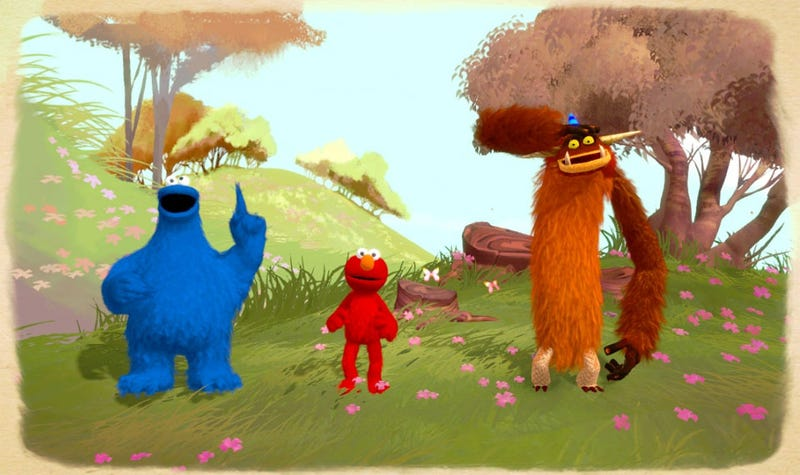 Your First Look At Double Fine's Sesame Street Game