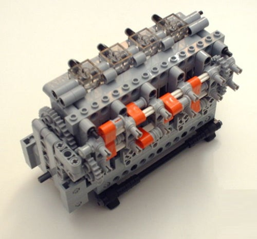 Lego Pneumatic Car Engines Now For Sale!