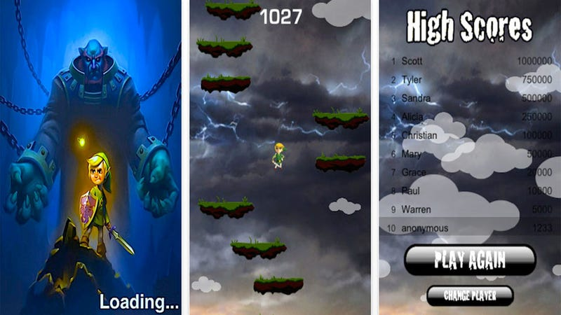 The Legend of Zelda Hops to the iPhone, At Least Until Nintendo Finds Out