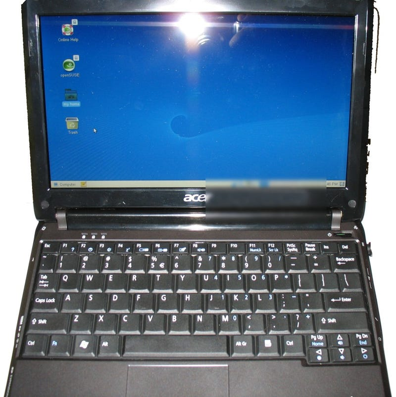 """Purported Specs Surface for Slimline 10"""" Acer Aspire One"""
