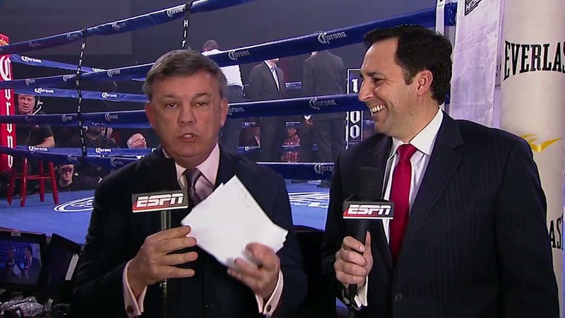 The Hell Happened To Teddy Atlas Tonight?