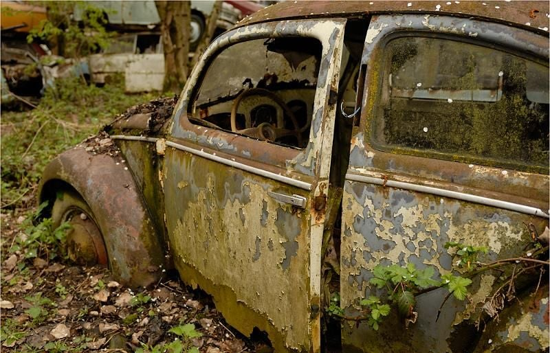 Another Massive Secret Vintage Junkyard Comes Under Fire