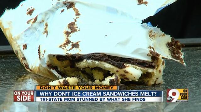 Why Don't Ice Cream Sandwiches Melt?