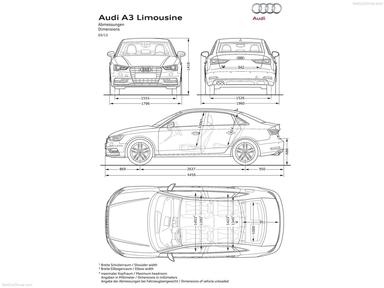 the audi a3 is the worlds cheapest limo. Black Bedroom Furniture Sets. Home Design Ideas