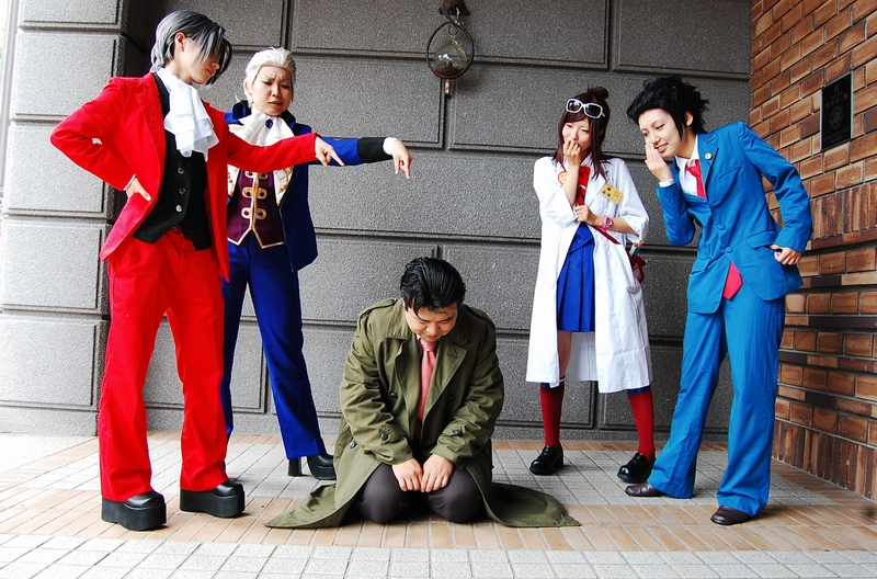 Don't Object to This Ace Attorney Cosplay