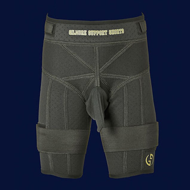 These Neat Compression Shorts Have A Helpful Dick Pouch