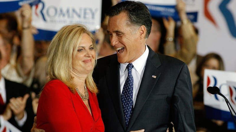 Ann Romney On Mitt's Stiffy: 'We better unzip him and let him out!'