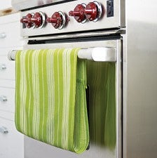Keep Kitchen Towels at Hand with this No-Slip Hack