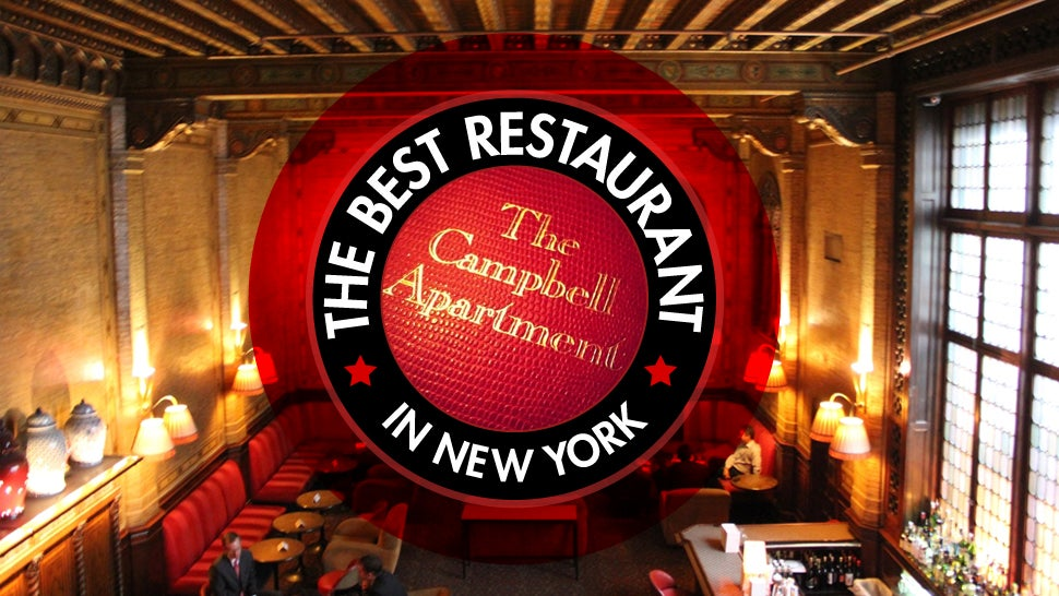 The Best Restaurant in New York Is: Grand Central's Campbell Apartment