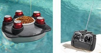 Remote Control Floating Service Tray