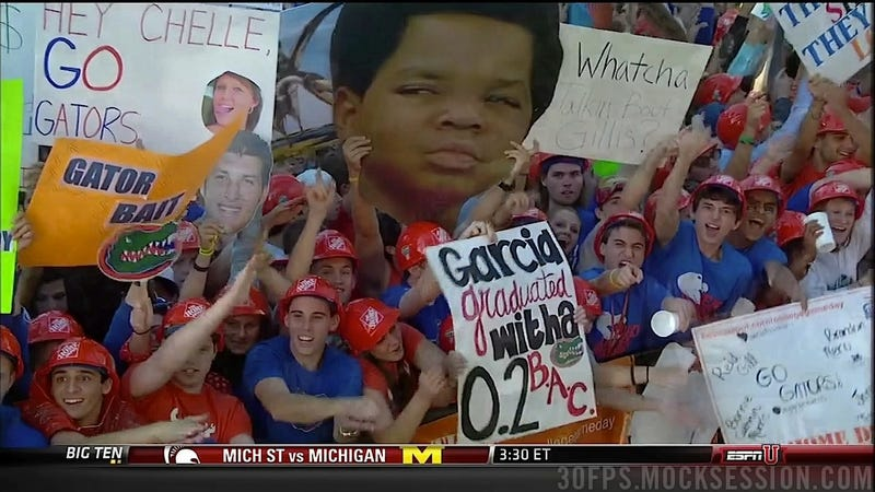 """Romney Likes Cocks"": Your Roundup Of The Best Signs Behind The College Gameday Crew"