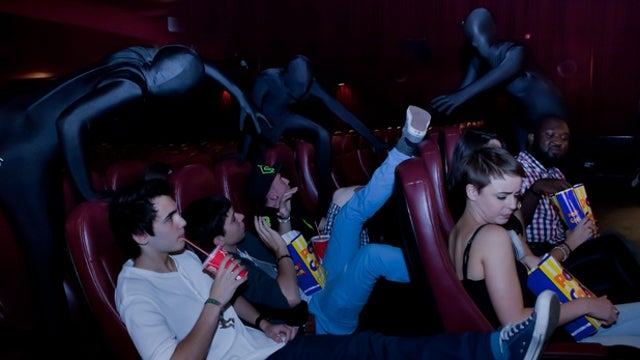 'Cinema Ninjas' Hired by Movie Theater to Discipline Patrons Who Talk During Film