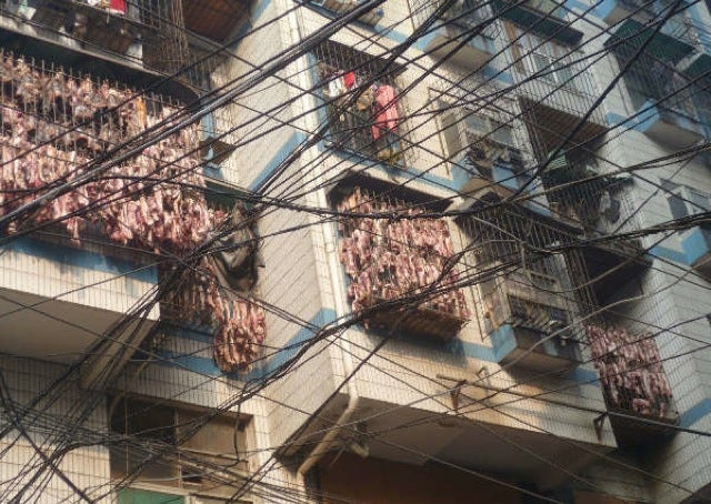 "You Don't Want To Live Next to China's ""Bacon Apartment"""