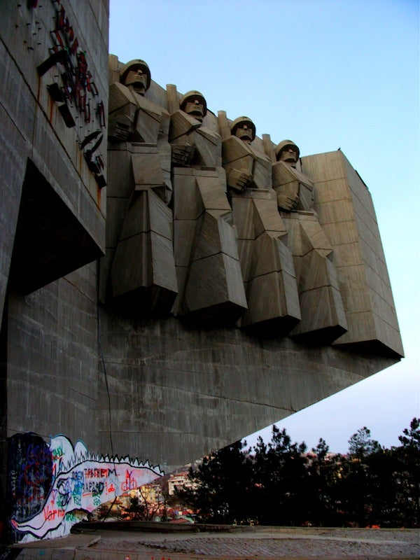 An extremely creepy tour of an abandoned Soviet monument in Bulgaria