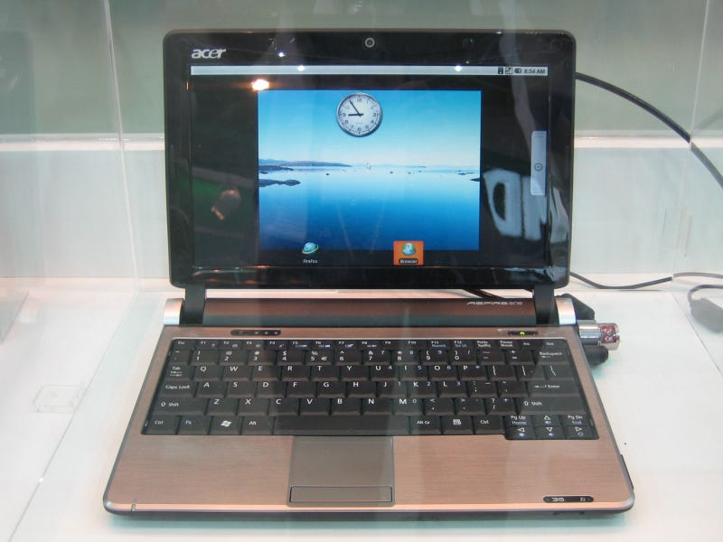Acer's Dual-Bootin', Android Lovin' Aspire One Netbook Almost Here