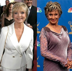 Here's The Story of Warring Battle Axes Florence Henderson & Cloris Leachman