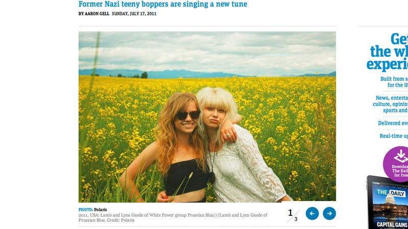 Tween White Power Folk Singer Twins Now 'Liberal' Potheads