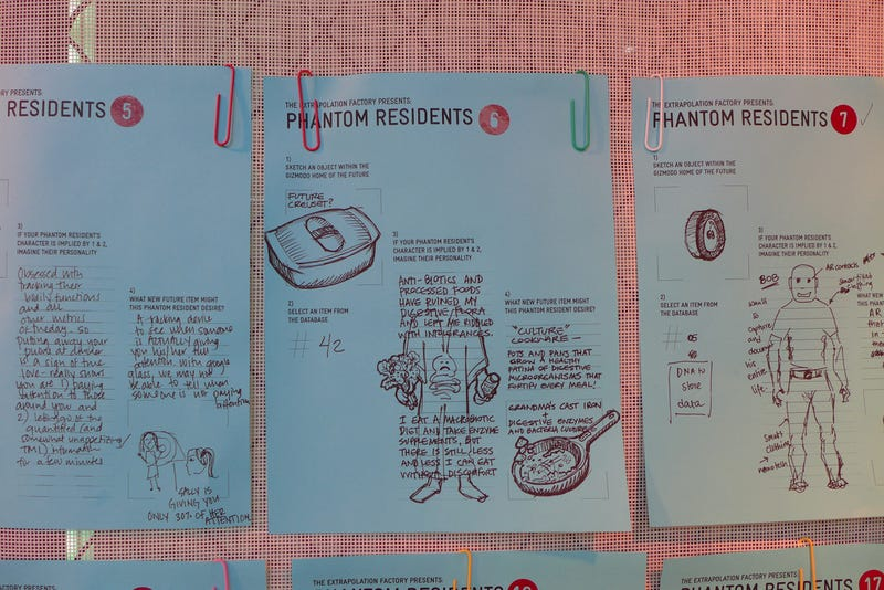 Designing Future Objects for the Home with Extrapolation Factory