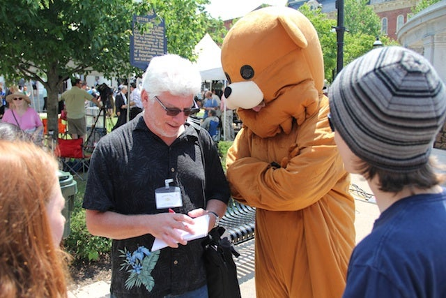 """Pedobear"" Shows Up At The Courthouse For Jerry Sandusky's Trial [UPDATE: Now He's Giving A Press Conference]"