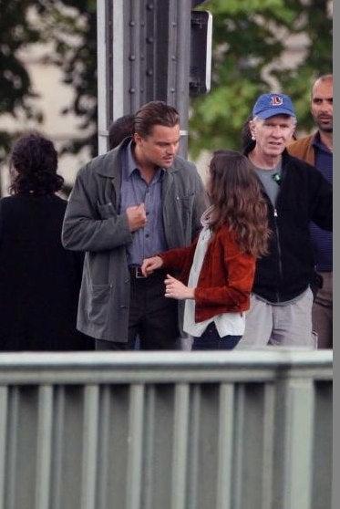 First Leonardo DiCaprio Images From Chris Nolan's Inception