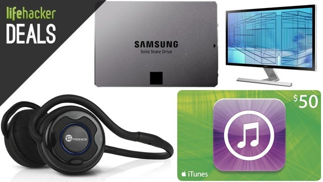 Cheaper Gift Cards, $160 GoPro, 4K Monitor with a Free SSD [Deals]