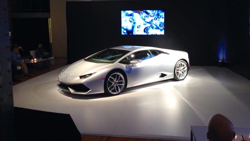 The Lamborghini Huracan Looks Unreal In Person
