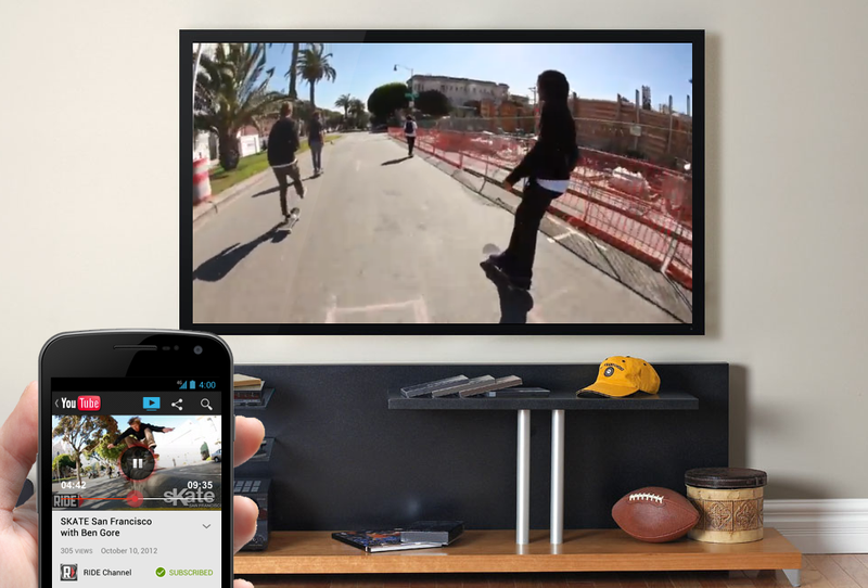 Trolling YouTube On Your TV Just Got Easier