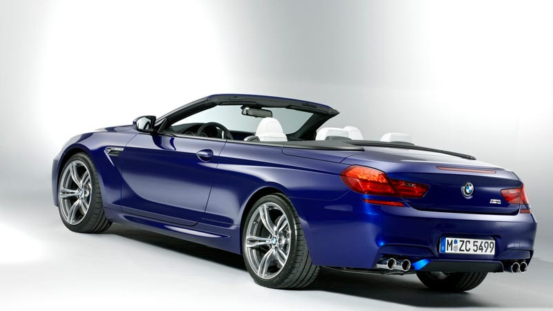 2012 BMW M6 Convertible: Press Photos