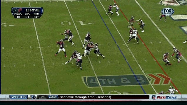 Texans Fans Cheer Schaub Injury, Backup Immediately Throws Pick-Six