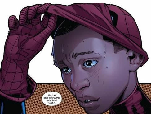 Marvel Comics unveil their new Spider-Man (who isn't Peter Parker)
